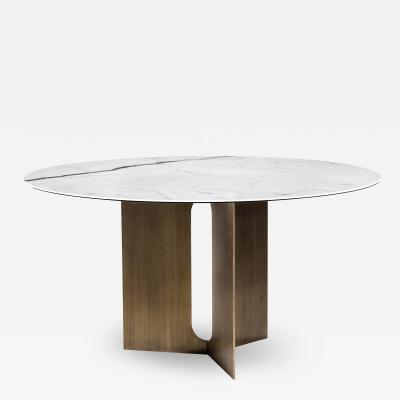 Interlude Home Pierre Dining Table Bronze
