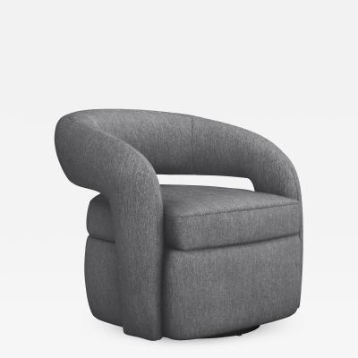 Interlude Home Targa Swivel Chair Night