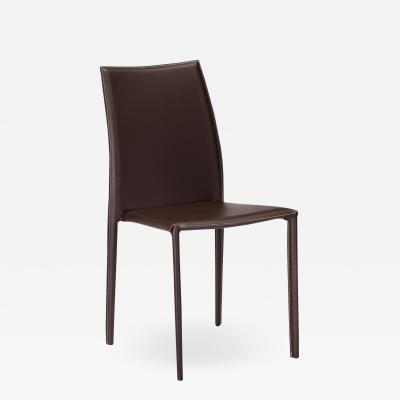 Interlude Home Van Stacking Chair Brown