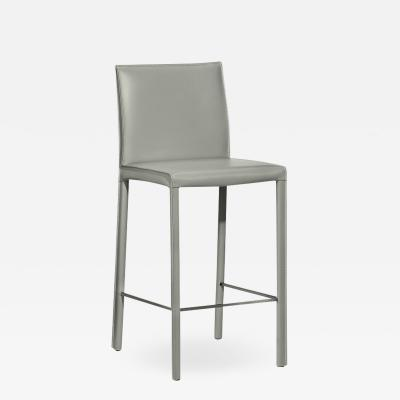 Interlude Home Vera Counter Stool Grey