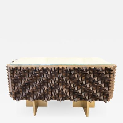 Interno 43 Wood Credenza by Interno 43 for Gaspare Asaro
