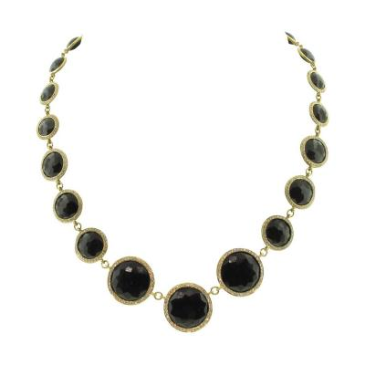 Ippolita Ippolita Lollipop Drama Diamond Gold Necklace