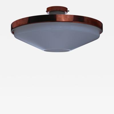 Itsu Itsu Plexiglass and Copper Ceiling Lamp