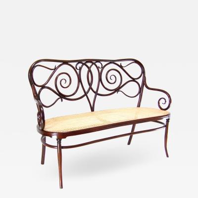 J J Kohn Sofa by Jacob Josef Kohn Nr 4 1870s