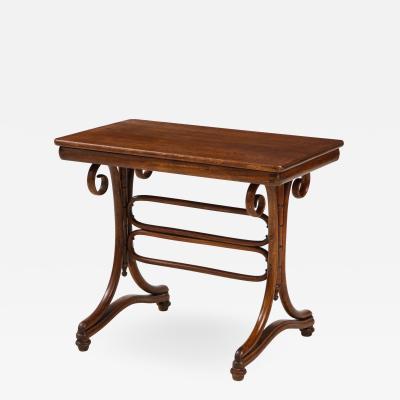 J J Kohn Thonet bentwood side table