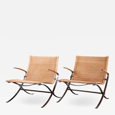 J rgen Lund Ole Larsen LUND LARSEN PAIR OF EASY CHAIRS