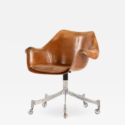 J rgen Lund Ole Larsen Office Chair Model 932 Produced by Bo Ex