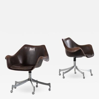 J rgen Lund Ole Larsen Office Chairs Model 932 Produced by Bo Ex