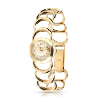 Jaeger LeCoultre Jaeger LeCoultre Vintage Dress Vintage Dress Womens Watch in Yellow Gold