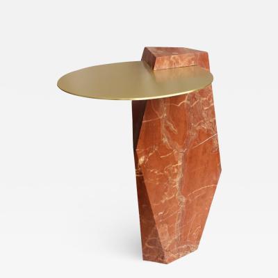 James Devlin Studio Lapidary Table Designed by James Devlin Studio