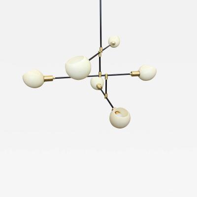 James Devlin Studio Ostrich Egg Chandelier