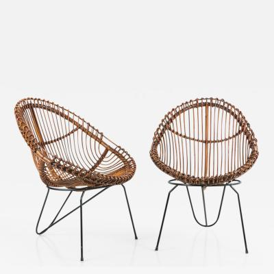 Janine Abraham Dirk Jan Rol Pair of Janine Abraham and Dirk Jan Rol Chairs Netherlands 1955