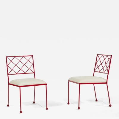 Jean Roy re Re Edition CROISILLON side chair by Jean Roy re