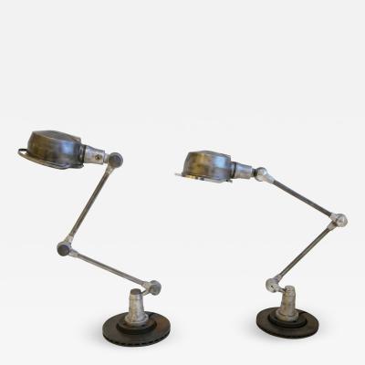 Jield Pair of Jielde Lamps