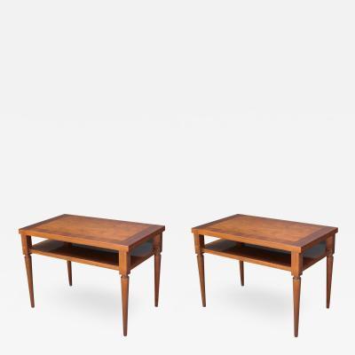 John Widdicomb Co Widdicomb Furniture Co Pair of Robsjohn Gibbings End Tables
