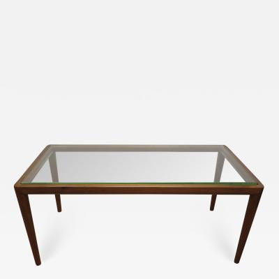 John Widdicomb Co Widdicomb Furniture Co T H Robsjohn Gibbings Walnut Coffee Table