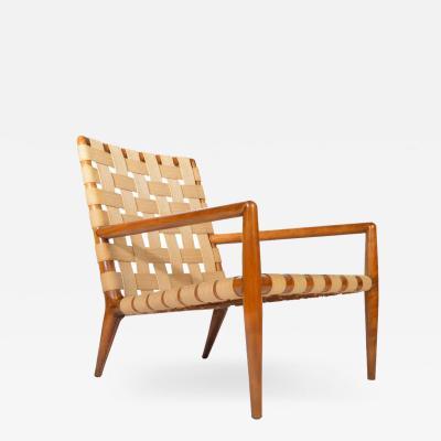 John Widdicomb Co Widdicomb Furniture Co T H Robsjohn Gibbings for Widdicomb Strap Lounge Chair