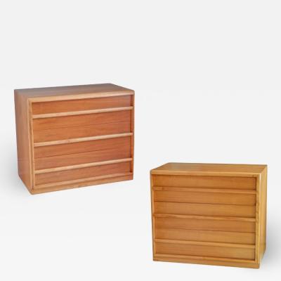 John Widdicomb Co Widdicomb Furniture Co T H Robsjohn Gibbins for Widdicomb Dressers