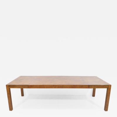 John Widdicomb Co Widdicomb Furniture Co Widdicomb Burl Wood Dining Table