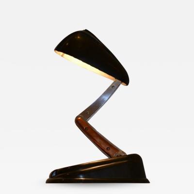 Jumo Bolide desk table lamp by Jumo circa 1945 1950