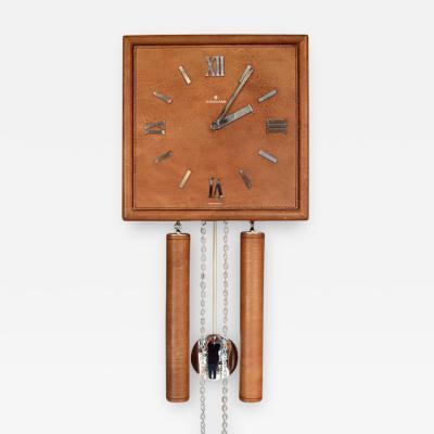 Junghans Uhren GmbH German Leather Wall Clock
