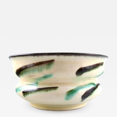 K hler Glazed stoneware bowl vase