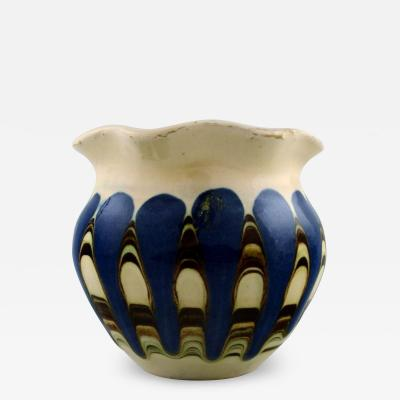 K hler Glazed stoneware vase