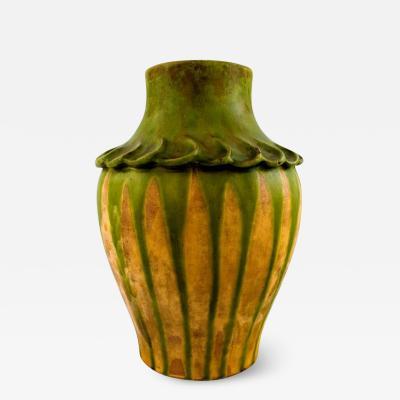 K hler K hler Denmark glazed stoneware vase 1920s