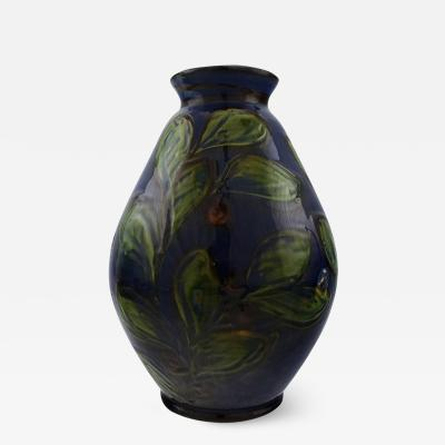 K hler K hler Denmark glazed stoneware vase in modern design
