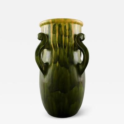 K hler K hler Denmark glazed stoneware vase with handles