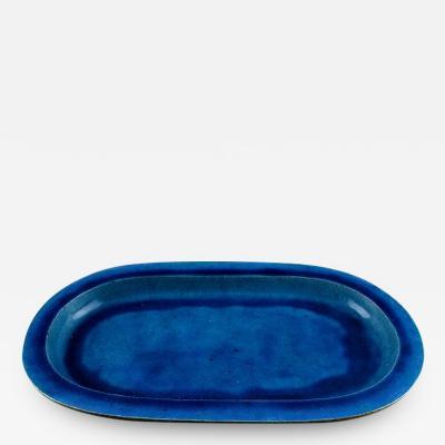 K hler K hler Denmark huge glazed Stoneware platter tray