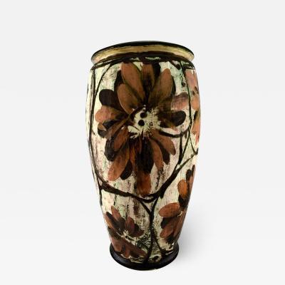 K hler K hler Denmark huge glazed stoneware floor vase in modern design