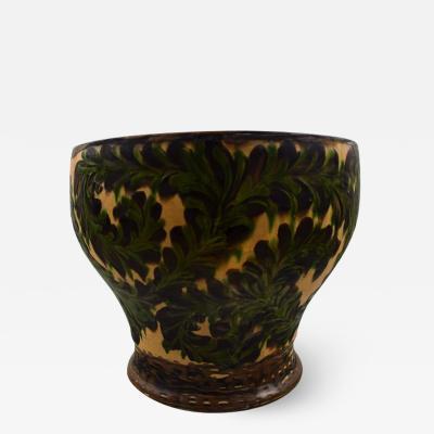 K hler K hler Denmark large glazed stoneware floor vase
