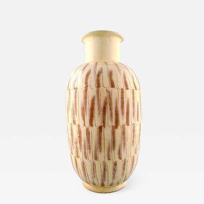 K hler K hler Denmark large glazed stoneware floor vase in modern design