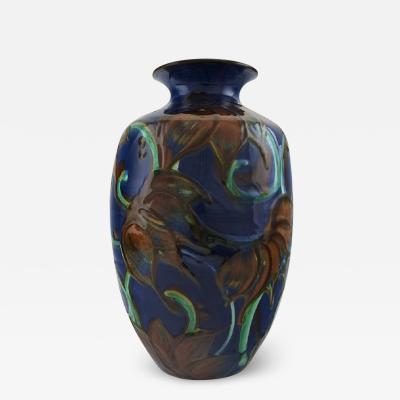 K hler K hler Denmark large glazed stoneware vase in modern design