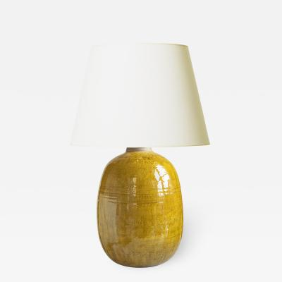 K hler Large Mod Lamp in Yellow by Nils Kahler