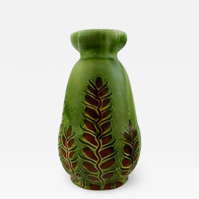 K hler Large glazed stoneware vase in modern design