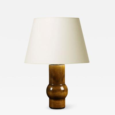 K hler Mod raw umber table lamp by K hler