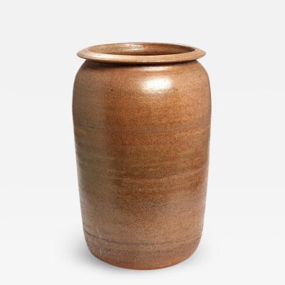 K hler Monumental Vase in a Rustic Style by Kahler Keramik