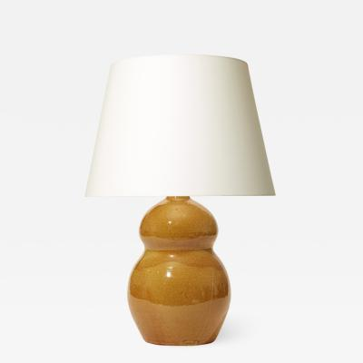K hler Table lamp with double gourd form by K hler
