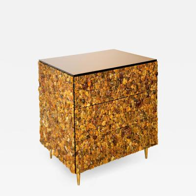 KAM TIN Amber chest by KAM TIN