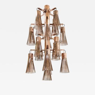 KAM TIN Copper Chandelier by KAM TIN