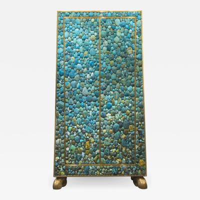 KAM TIN Turquoise Trapeze cabinet by KAM TIN 2015