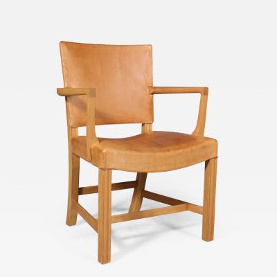 Kaare Klint Edvard Kindt Larsen Kaare Klint The red chair armchair of ash