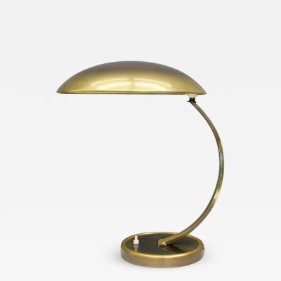 Kaiser Idell Kaiser Leuchten Kaiser Co Brass Desk Lamp by Christian Dell 6751 for Kaiser Germany 1950s