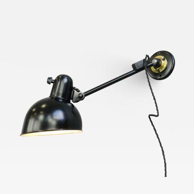 Kaiser Idell Kaiser Leuchten Kaiser Co Kaiser Jdell Model 6723 Wall Lamp By Christian Dell Circa 1930s