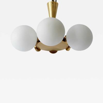 Kaiser Idell Kaiser Leuchten Kaiser Co Multi Globe Sputnik Chandelier or Pendant Lamp by Kaiser Leuchten Germany 1970s