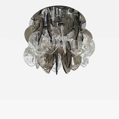 Kalmar Lighting J T Kalmar Textured Glass Ceiling Fixture