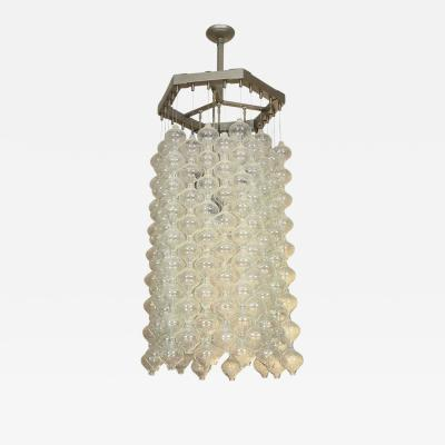 Kalmar Lighting Kalmar Chandelier with Nestling Tulipan Glass Elements