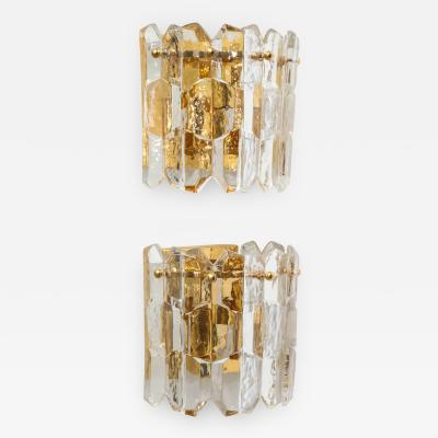 Kalmar Lighting Kalmar Chiseled Glass Sconces